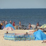 nasza plaża i morze